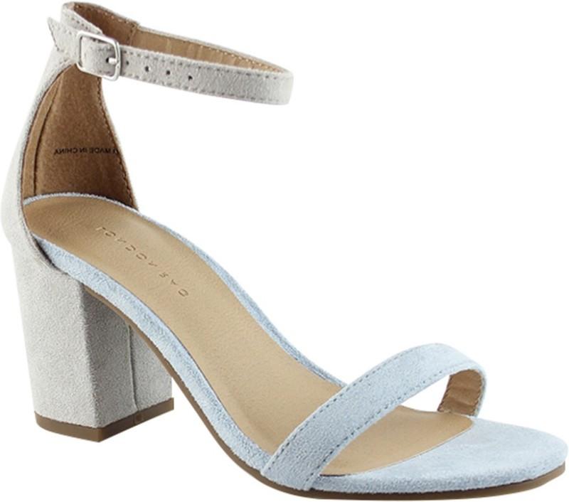 LONDON RAG Women Grey Heels