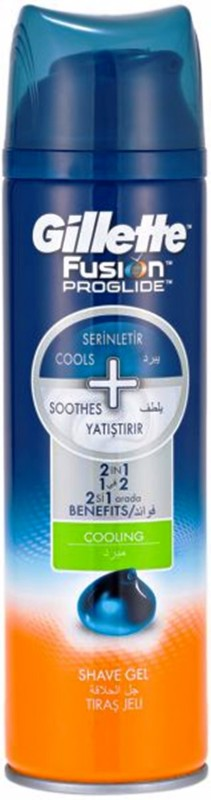 Gillette Fusion 2in1 Cooling Shave Gel(200 ml)