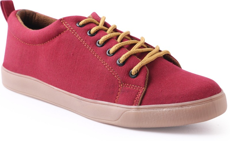 Shoe Mate Pink Casual Shoes Casuals For Men(Pink)