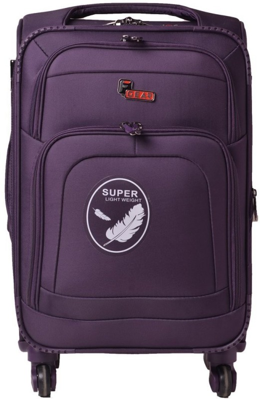 F Gear Crew Expandable Cabin Luggage - 20 inch(Purple)