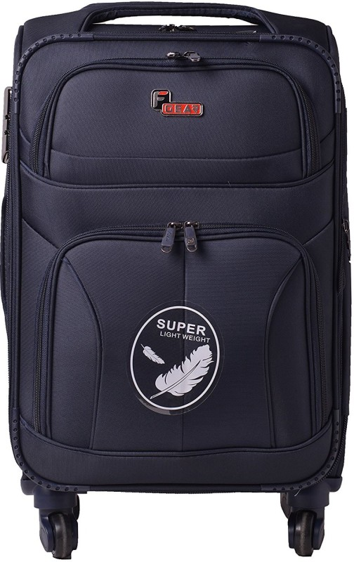 F Gear Torq Expandable Cabin Luggage - 20 inch(Blue)