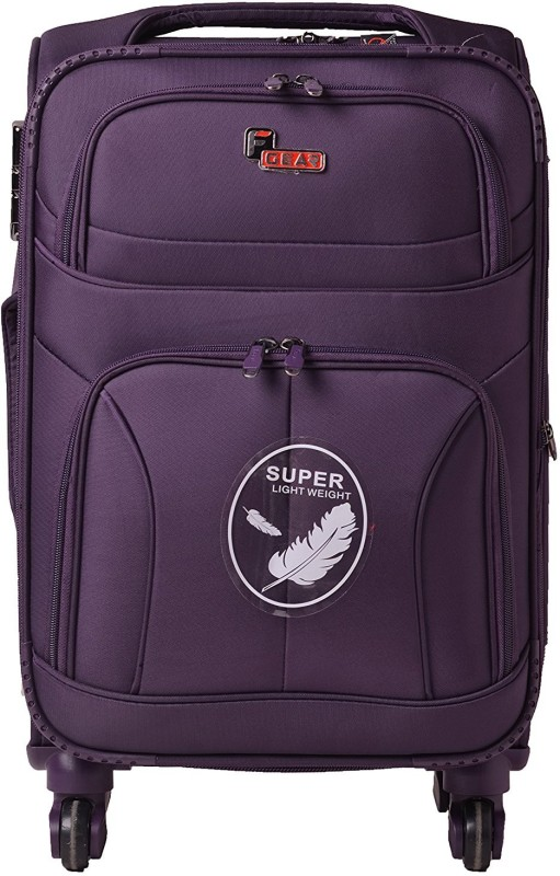F Gear Torq Expandable Cabin Luggage - 20 inch(Purple)
