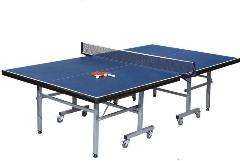 play city Rollaway Indoor Table Tennis Table(Blue)