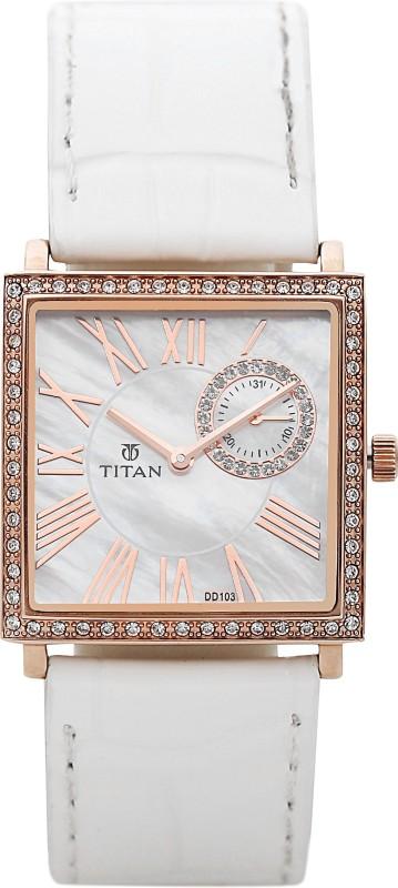 Titan 9961WL01J Purple Women's Watch image