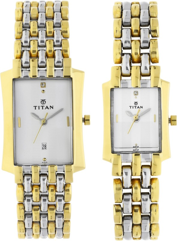 Titan NH19272927BM01 Bandhan Analog Watch - For Couple