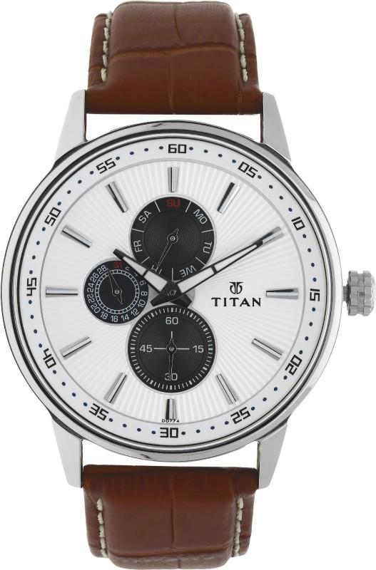Titan 9441SL01 Smart Steel Watch - For Men