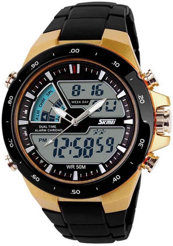 Skmei Skmei-Gold Skmei Gold Men's Watch image