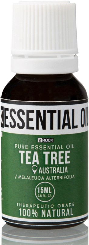 2 Rock Pure Tea Tree Essential Oil (Australia) Therapeutic Grade 15ml(15 ml)