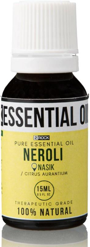 2 Rock Pure Neroli Essential Oil (Nasik) Therapeutic Grade 15 ml(15 ml)