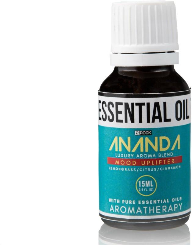 2 Rock Ananda Luxury Aroma Blend (Lemongrass , Sweet Citrus & Cinnamon) 15 ml(15 ml)