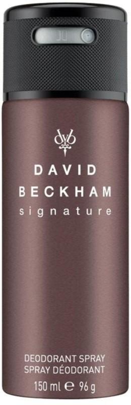 David Beckham SIGNATURE 150ML Deodorant Spray - For Men(150 ml)
