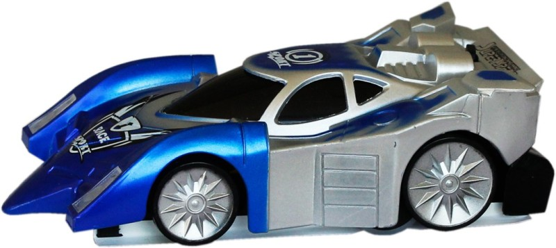 toys factory Car Battery Operated Ride On(Blue, Silver)