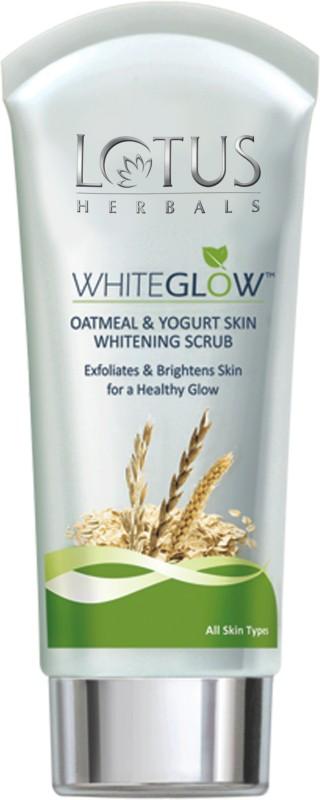 Lotus Herbals Herbals White Glow Oatmeal & Yogurt Skin Whitening Scrub(50 g)