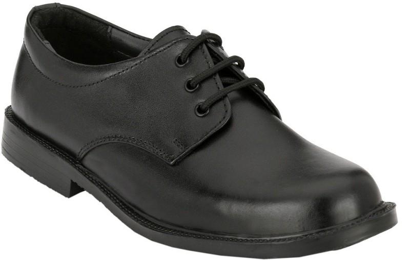 XY Hugo Boys Lace Derby Shoes(Black)