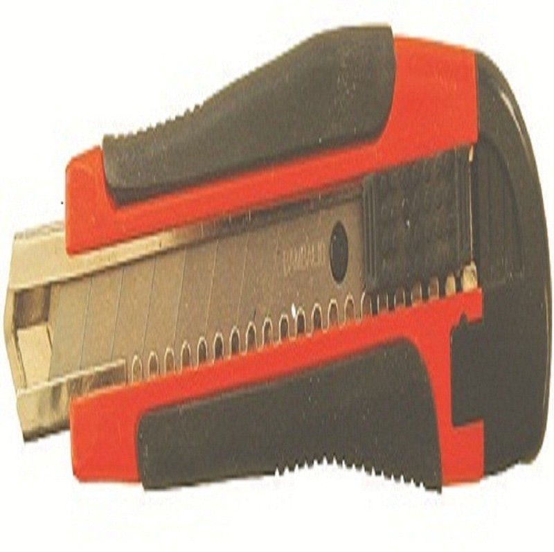 Bambalio cutter Rubber Grip Hand-held Paper Cutter(Set Of 4, Red with black)