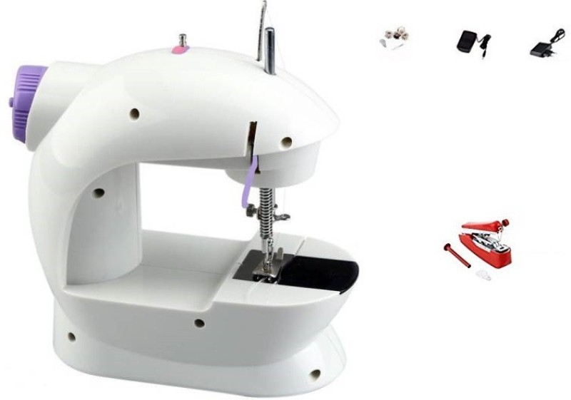Bluebells India stapler machine with Heavyduty Portable Sewing Machine With Mini 2-Speed, Double Thread, Double Speed Electric Sewing Machine( Built-in Stitches 1)