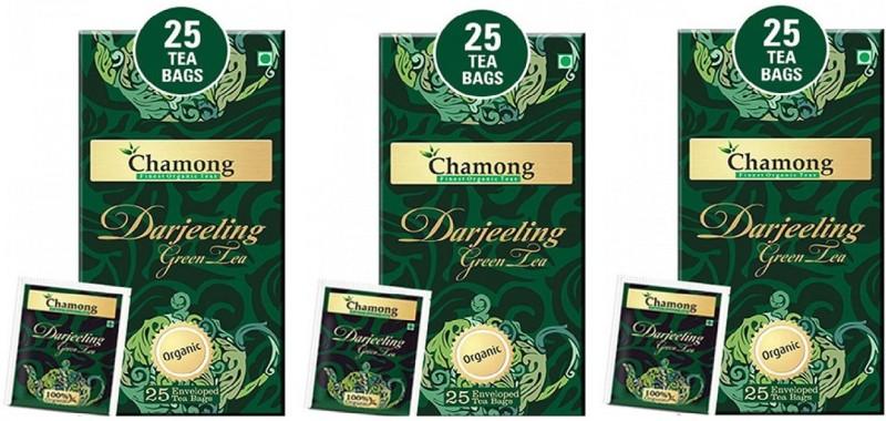 CHAMONG DARJEELING GREEN TEA Green Tea Bags(75 Bags, Box)