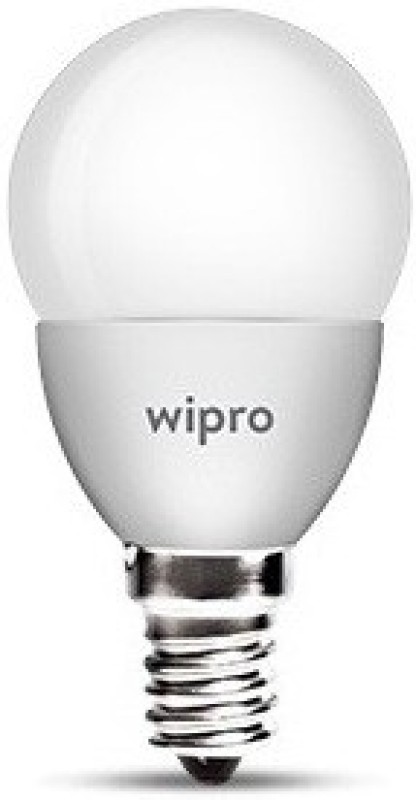 Wipro 5 W Standard E14 LED Bulb(Yellow)