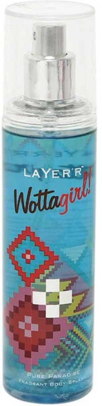 Layerr Wottagirl Pure Paradise Body Spray - For Women(135 ml)