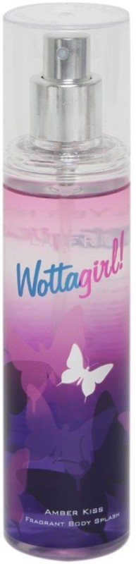 Layerr Wottagirl Amber Kiss Body Spray - For Women(135 ml)