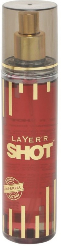 Layerr Shot Imperial Body Spray - For Men(135 ml)