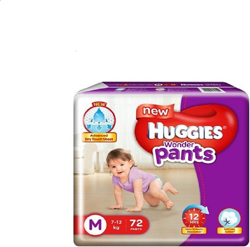 Huggies hug1-22M - M(72 Pieces)