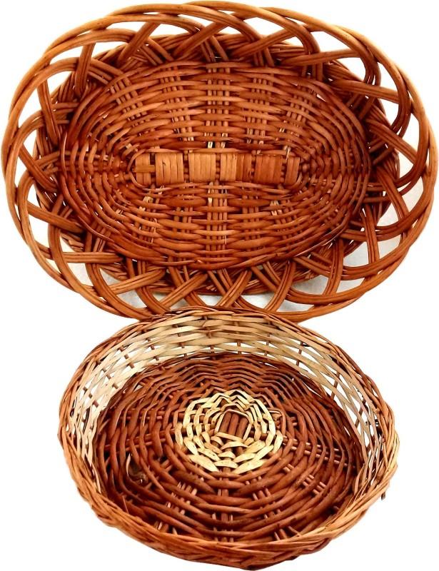 sellersindiya 119 Jute Flower Basket with Artificial Flower & Plant(W: 4 cm x H: 5 cm x D: 5 cm)
