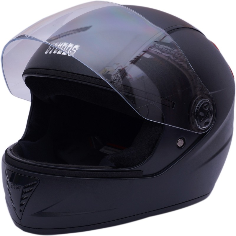 Studds professional Motorsports Helmet(Red, Black)