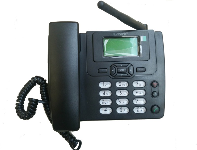 Gnine X900 Cordless Landline Phone(Black)