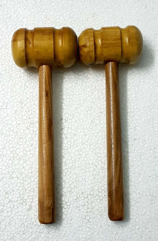 Lifecolor 2 Mallets (YU565) Wooden Bat Mallet