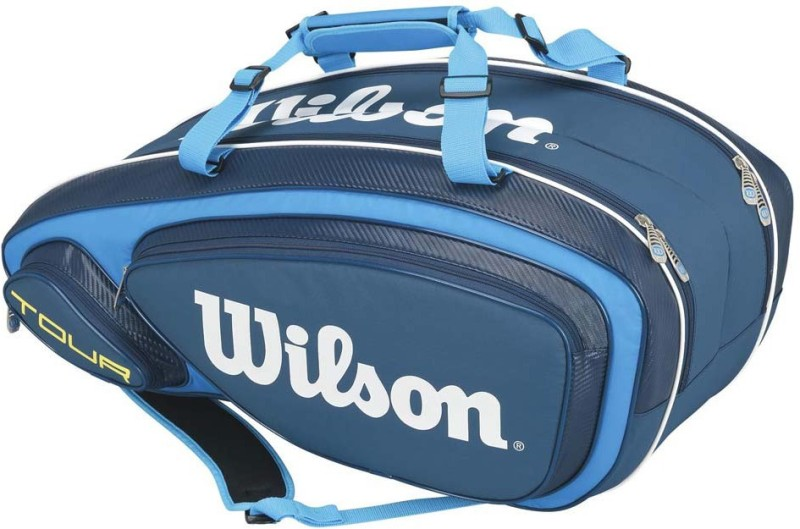 Wilson TOUR V 15 PACK Kit bag(Blue, Kit Bag)