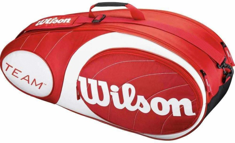 Wilson TEAM RED KIT BAG(White, Kit Bag)