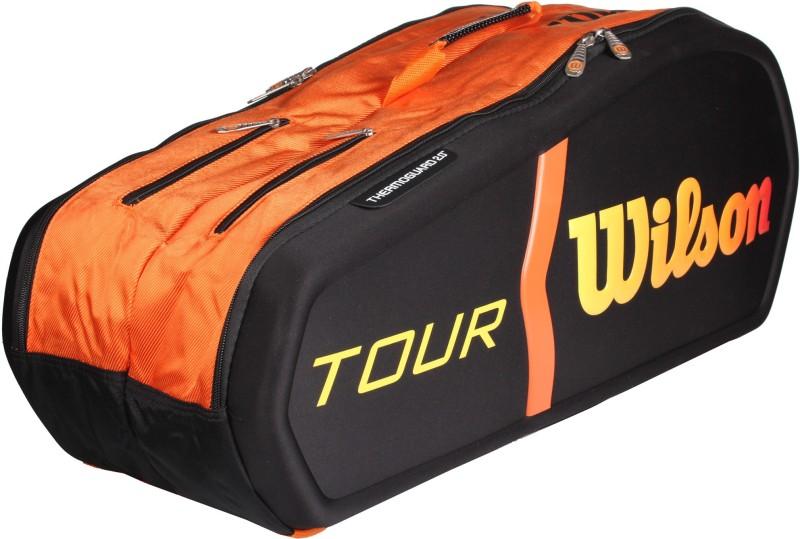 Wilson Burn Molded 9-Pack KIT BAG KIT BAG(Orange, Backpack)