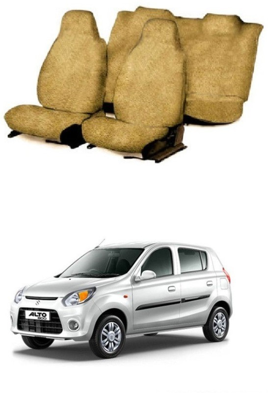 JMJW & SONS Cotton Car Seat Cover For Maruti Alto 800(5 Seater)