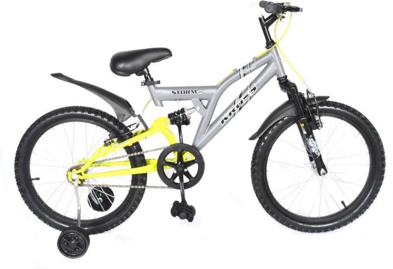 Kross Storm Dual Suspension 2018 Bike For Kids Age Of 7-9 Yrs 20 T Single Speed Recreation Cycle(Multicolor)