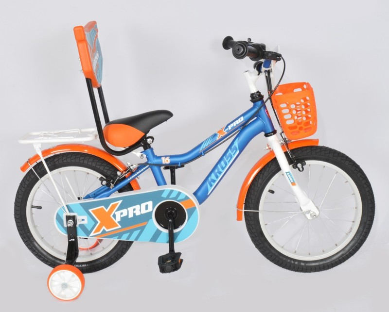 Kross X Pro Sporty 2018 Bike For Kids Age of 2-4yrs 16 T Single Speed Recreation Cycle(Multicolor)