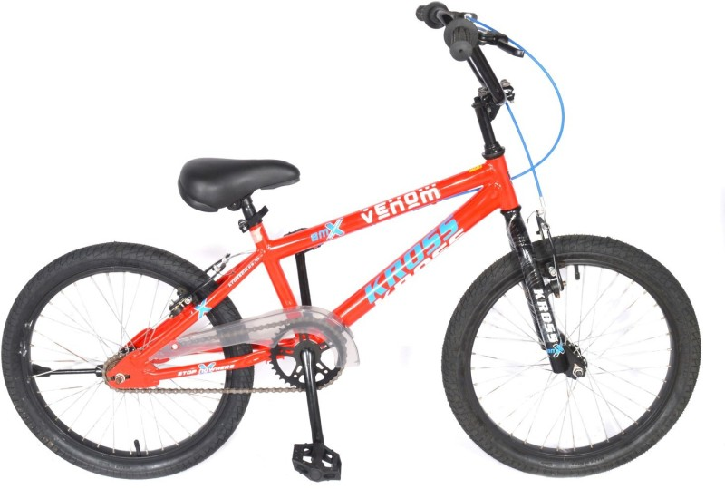 Kross Venom Sporty 2018 Bike For Kids Age of 7-9yrs 20 T Single Speed Recreation Cycle(Multicolor)