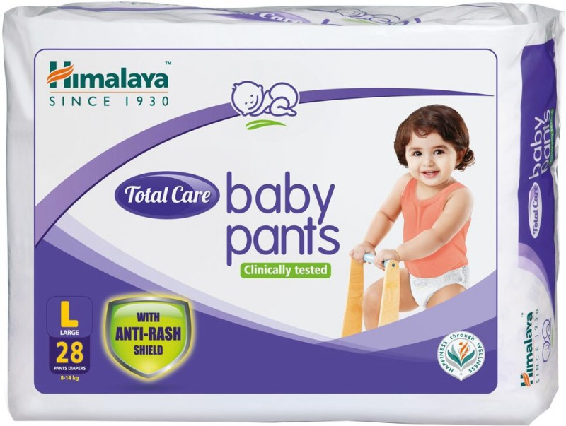 Himalaya Total Care Baby Pants - L(28 Pieces)
