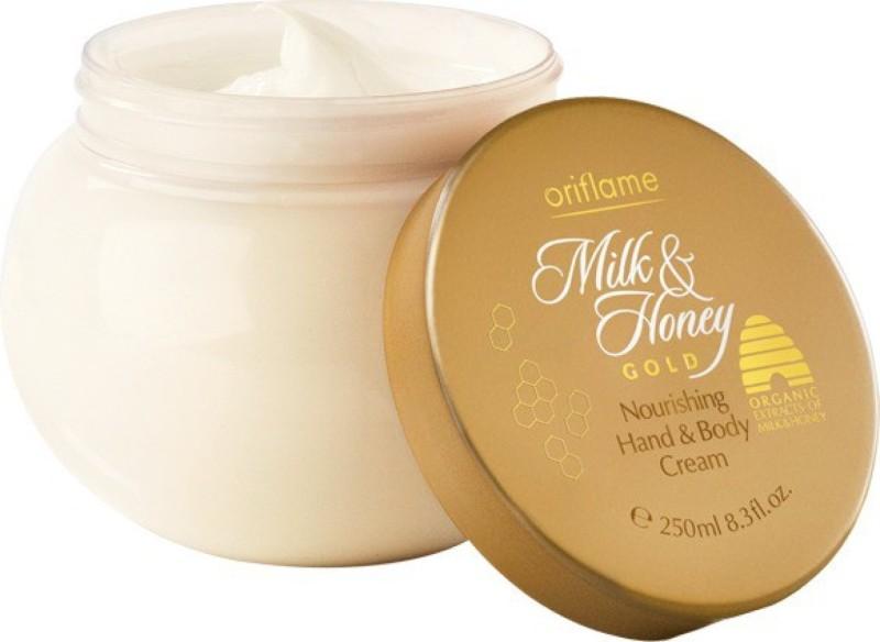 Oriflame Milk And Honey Gold Nourishing Hand And Body Cream (250 g)(250 g)