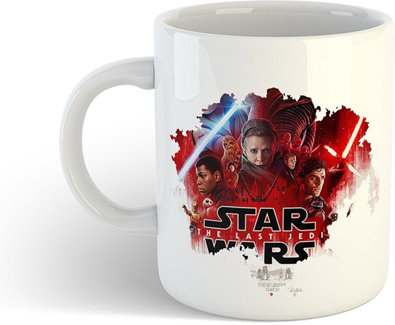 iKraft CoffeeMug Gift for friends Best American epic space opera media franchise Centered on a Film Series Printed Tea Cup Set Ceramic Mug(350 ml)