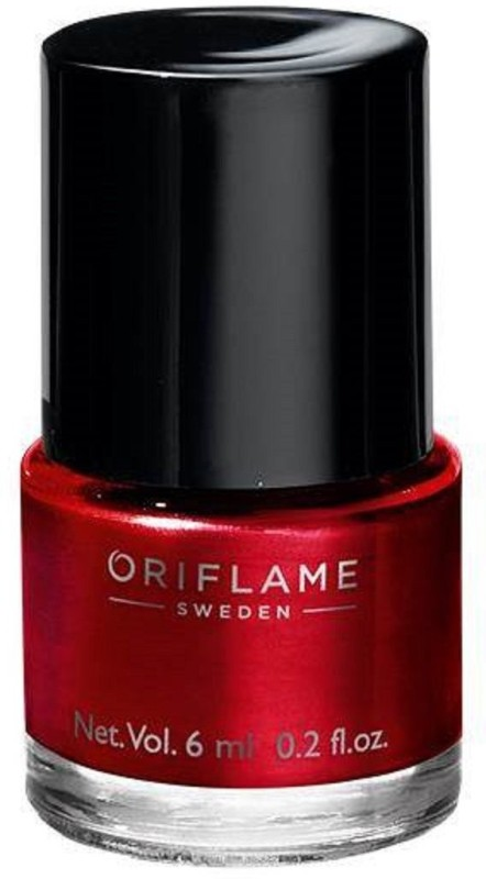 Oriflame Sweden Pure color nail paint Classic Red(6 ml)