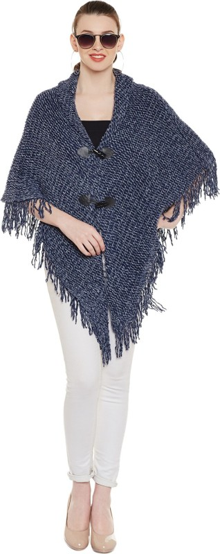 Natty India Woollen Poncho