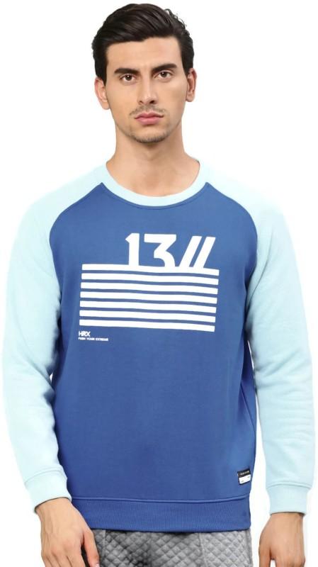 HRX by Hrithik Roshan Full Sleeve Printed Men Sweatshirt