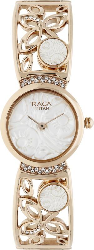 Titan 95046WM01J Raga Analog Watch - For Women