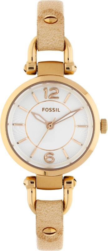 Fossil ES3745 Georgia Beige Women's Watch