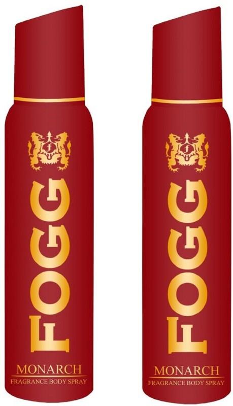 Fogg Monarch Fragrant Body Pack of 2 Combo (120ML each) Perfume Body Spray - For Men(240 ml, Pack of 2)
