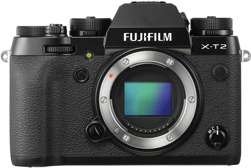 Fujifilm X-T2 Black Mirrorless Camera Body Only(Black)