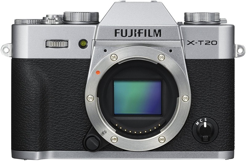 Fujifilm X-T20 Silver Mirrorless Camera Body Only(Silver)