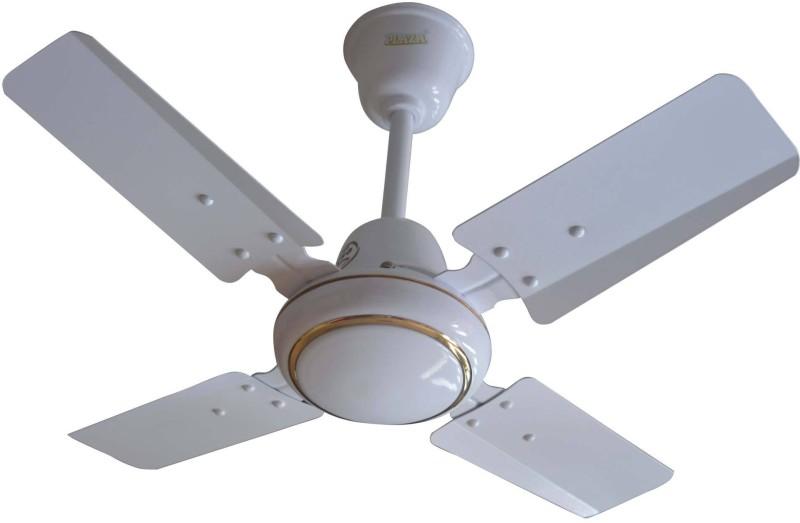 Plaza Jet Kool 24 4 Blade Ceiling Fan(White)