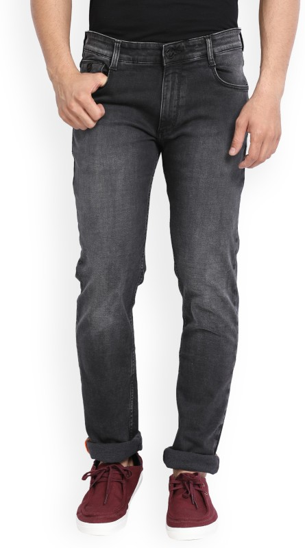 John Players Slim Mens Black Jeans